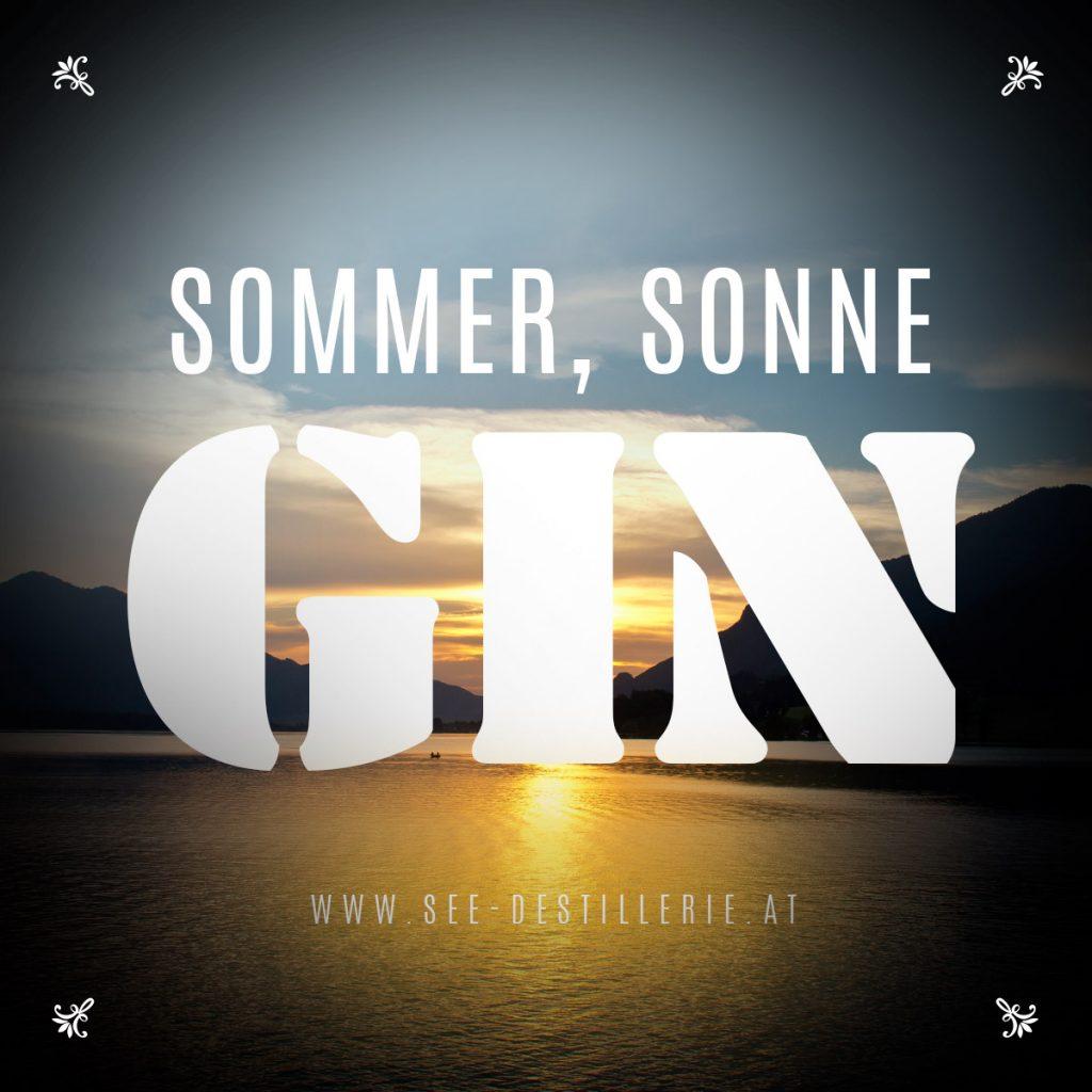 SOMMER, SONNE GIN - www.see-destillerie.at