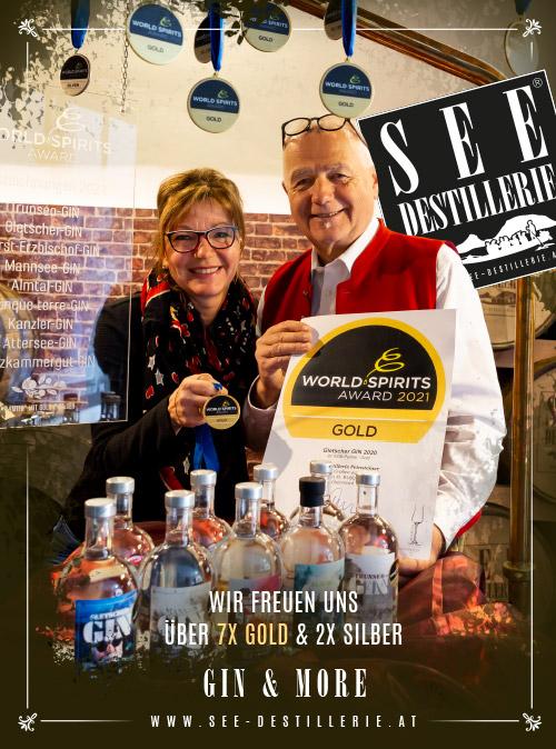SEE-DESTILLERIE® - World-Spirits Award - Verleihung 2021